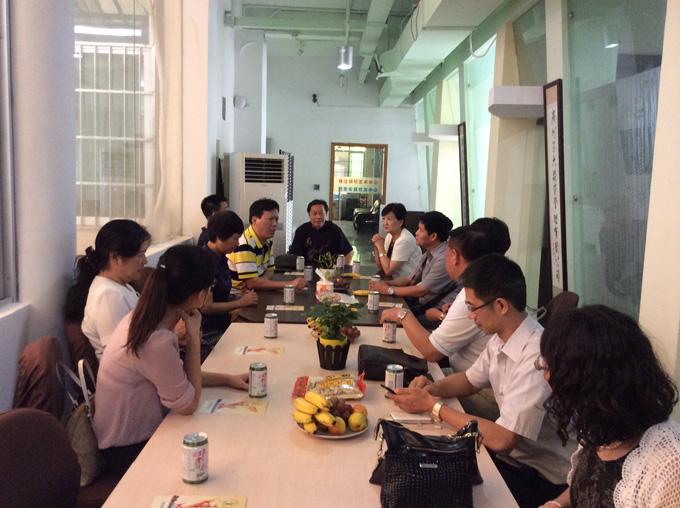 中国社会福利协会冯晓丽副会长考察广州养老项目
