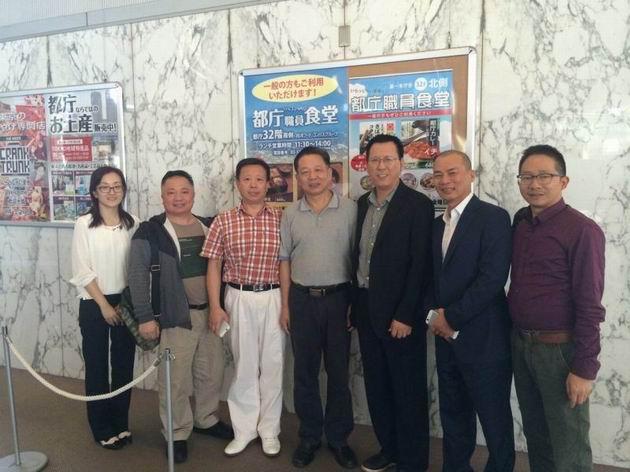 10月7至13日,协会组织赴日本商务考察