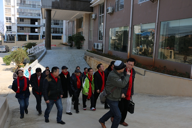 2016年1月23日至25日协会组织赴广西商务考察