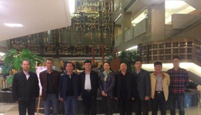 协会会长陈文广跟随省民政厅领导一行前往福建调研考察