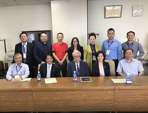 第十期 国际养老商务考察 暨高级研修班 日本的的深度考察研修班