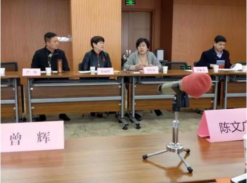 联席会议广州交流团站拜访湖北省老龄产业协会