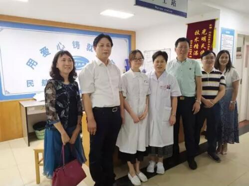 陈文广会长一行走访广州岭南教育集团