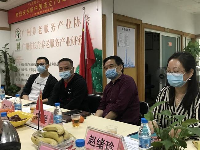 """""""健康中国万里行""""吴世延一行走访协会座谈交流、商谈合作"""