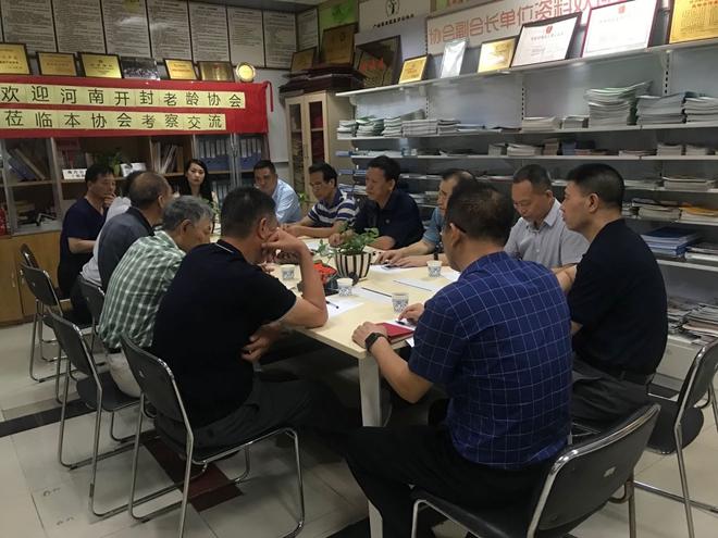 【协会动态】河南省开封市老龄协会领导一行来访本协会